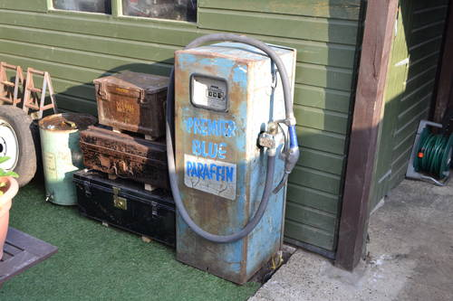 1959 Gilbarco vintage fuel parafin pump SOLD | Car And Classic