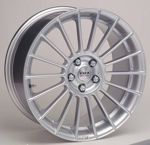Fox racing 3 evo  premier  alloys with tyres For Sale (picture 1 of 6)