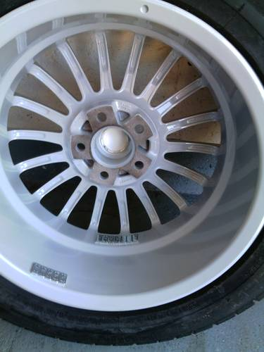Fox racing 3 evo  premier  alloys with tyres For Sale (picture 4 of 6)