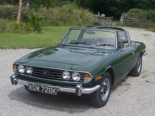 1972 Triumph Stag with straight six 2500cc TC engine  SOLD | Car And