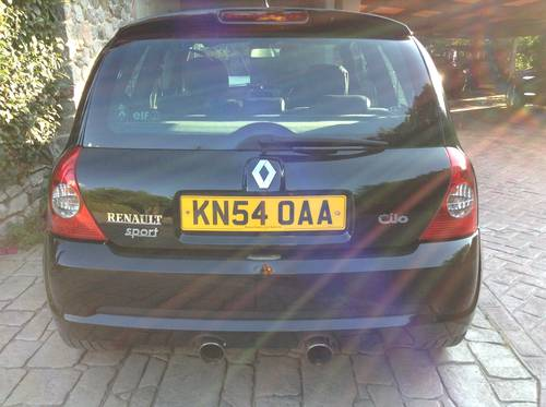 2004 Excelent unmolested  RENAULT CLIO  182 SPORT , CUP For Sale (picture 5 of 5)