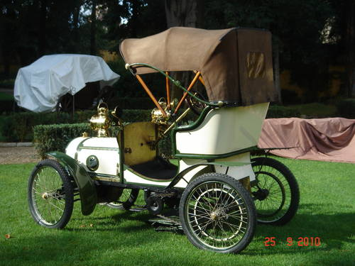 1904 1905 - Otav 5,5 hp bodied by Carrozzeria Castagna  For Sale (picture 5 of 5)