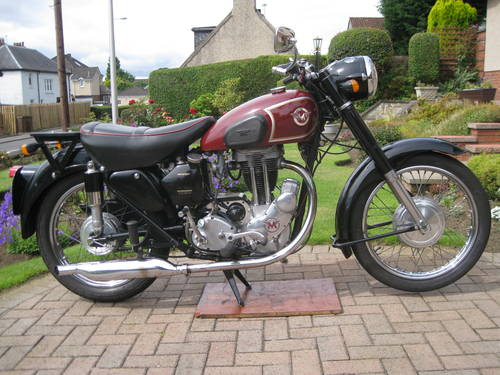 1955 matchless G3LS 1955 350cc SOLD (picture 1 of 5)