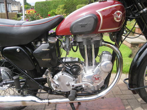 1955 matchless G3LS 1955 350cc SOLD (picture 3 of 5)