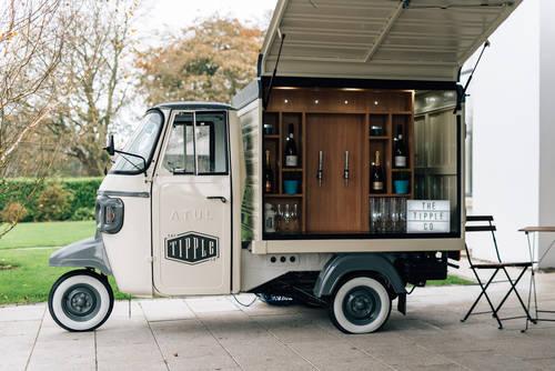 2017 Prosecco Van - Conversions Coffee Piaggio Ape For Sale (picture 1 of 4)