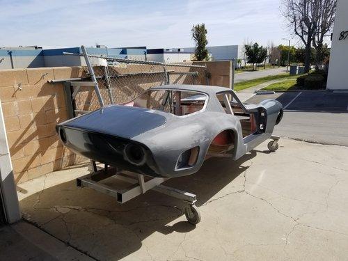 1969 Bizzarrini, fiberglass body, only SOLD (picture 5 of 5)