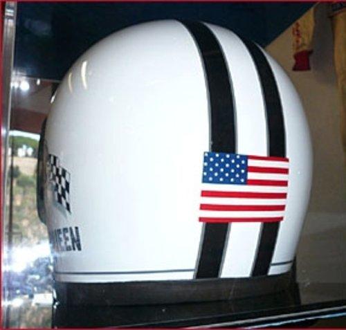 1970 Steve McQueen Sebring Replica Helmet For Sale