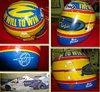 1987 Mark Blundell race used Helmet SIGNED For Sale