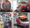 1996 Martin Brundle Commemorative replica Helmet