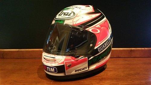 2012 Niki Hayden raced helmet For Sale (picture 1 of 6)