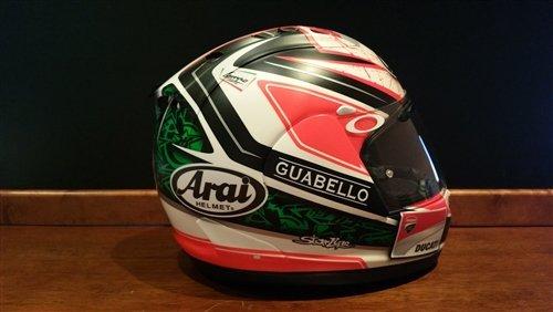 2012 Niki Hayden raced helmet For Sale (picture 4 of 6)