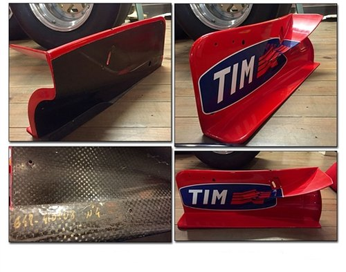 2000 Michael Schumacher Front wing end plate For Sale (picture 1 of 1)