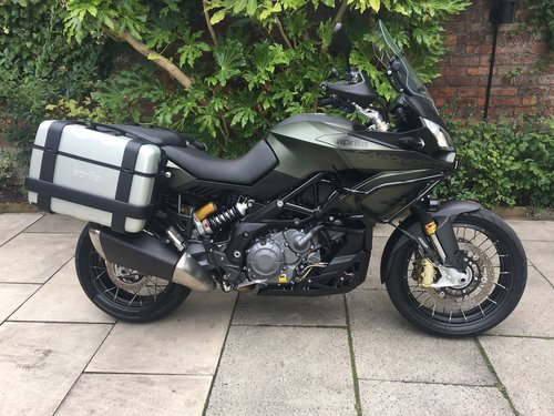 2017 Aprilia Caponord Rally 1200, 6264 miles, Perfect Condition SOLD (picture 1 of 6)