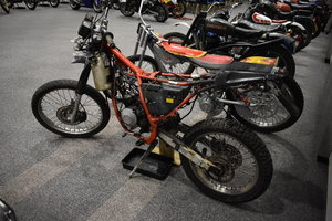 Lot 133-An Aprilla 125cc trail bike rolling chassis-10/08/19 SOLD by Auction