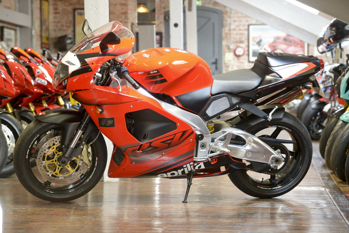 2003 Aprilia RSV1000R Evo Stunning low mileage example For Sale (picture 6 of 6)