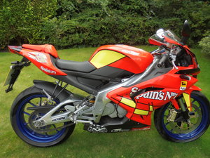 2008 Aprillia rs125 limited edition 1 owner mint