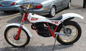 1985  Aprilia TX 300 Air Cooled Twin Shock Trials Bike