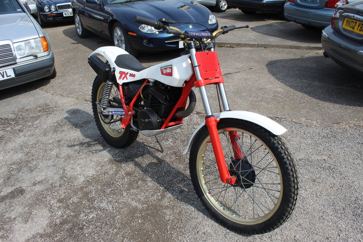 1985 Aprilia TX 300 Air Cooled Twin Shock Trials Bike  For Sale (picture 5 of 5)