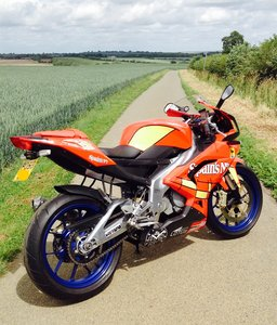 2008 Aprilia RS125. 2 Stroke. Full Power. 693m only.