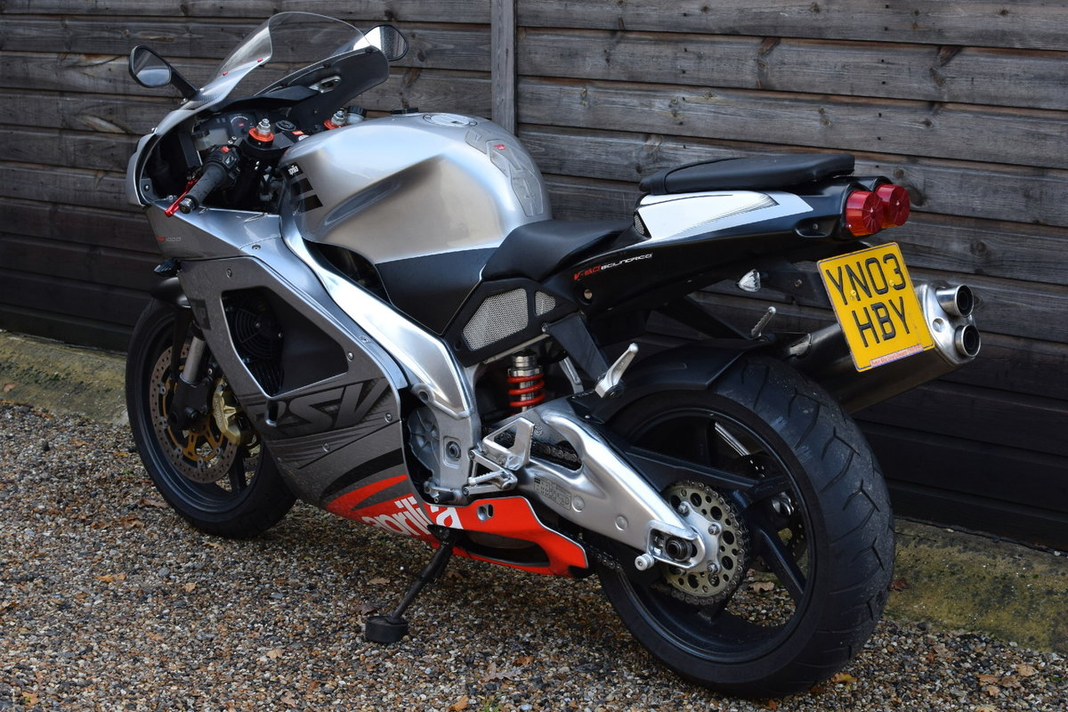 Aprilia RSV 1000 Mille (Standard and Original) 2003 03 Reg SOLD (picture 4 of 6)