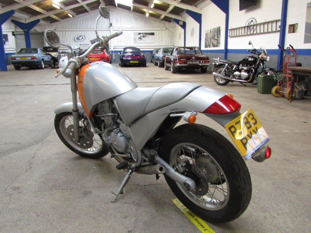 1996 Aprilia Moto 6.5 at ACA 27th and 28th February For Sale by Auction (picture 7 of 9)