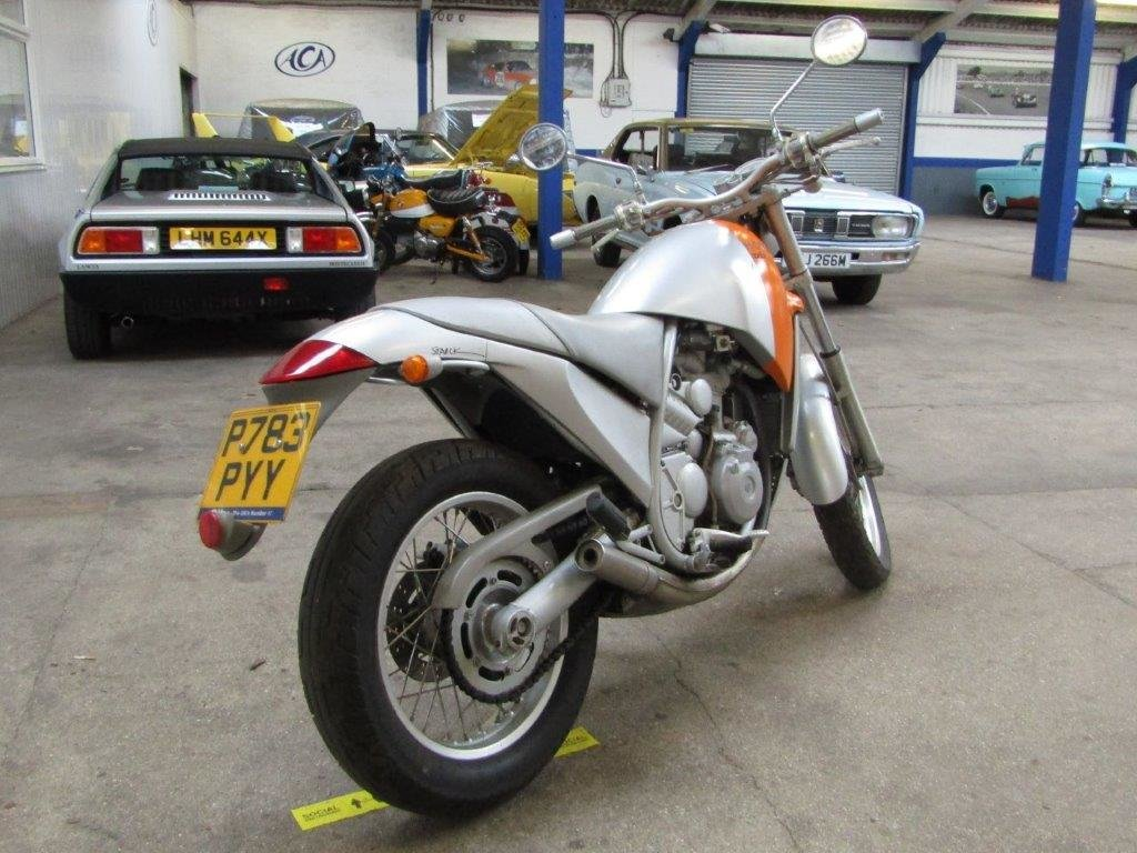 1996 Aprilia Moto 6.5 at ACA 27th and 28th February For Sale by Auction (picture 8 of 9)