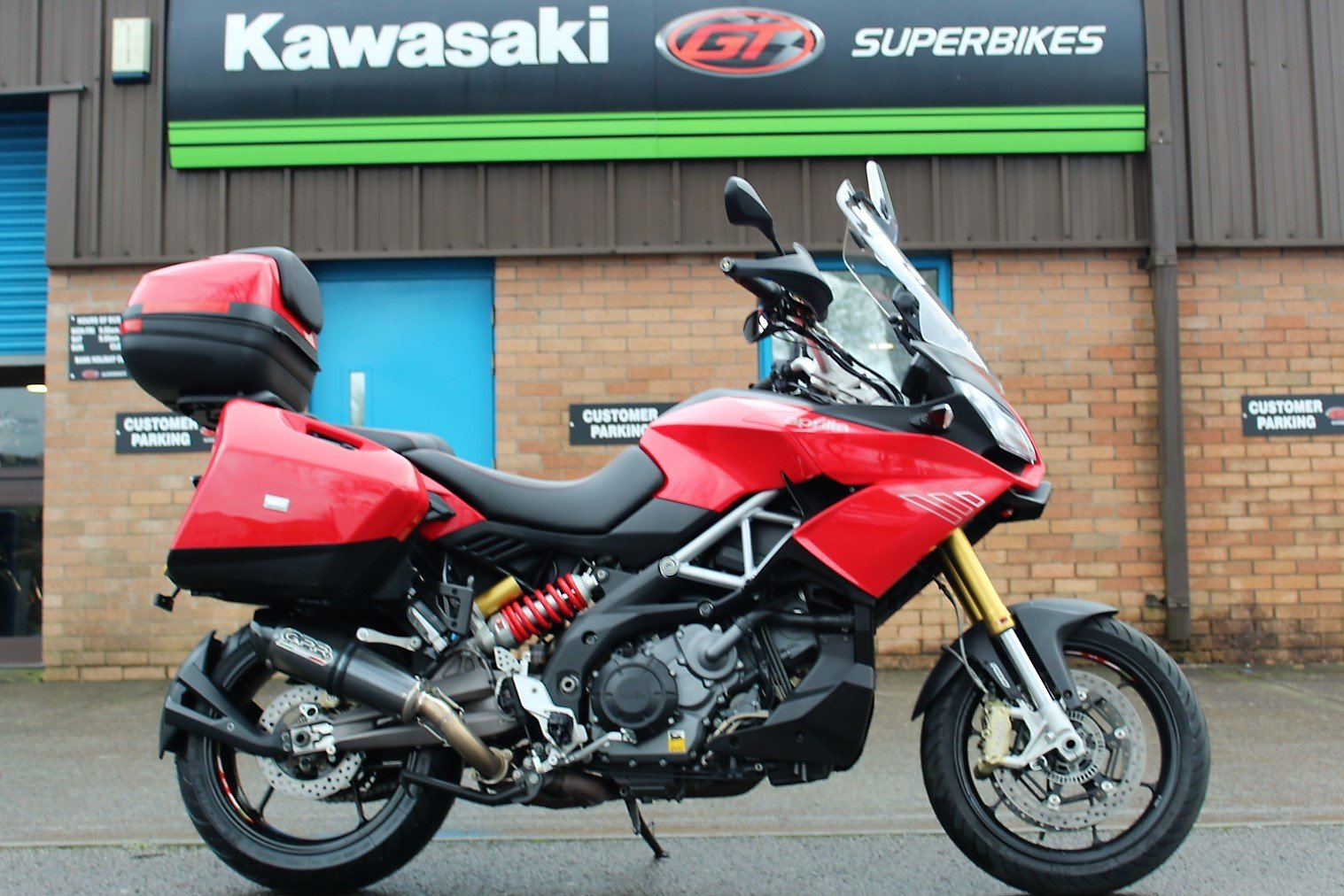2015 65 Aprilia Caponord 1200 ABS Adventure Tourer For Sale (picture 1 of 12)