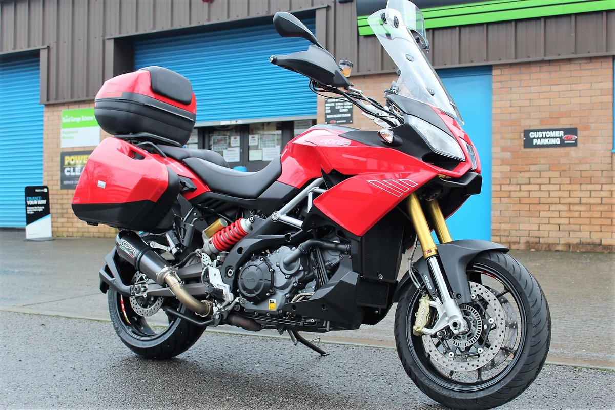 2015 65 Aprilia Caponord 1200 ABS Adventure Tourer For Sale (picture 2 of 12)