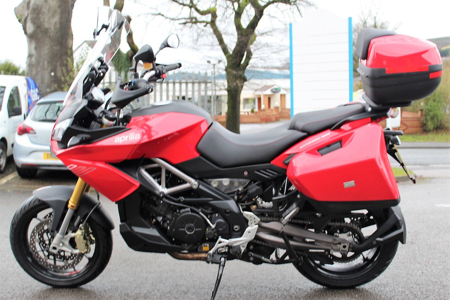 2015 65 Aprilia Caponord 1200 ABS Adventure Tourer For Sale (picture 4 of 12)