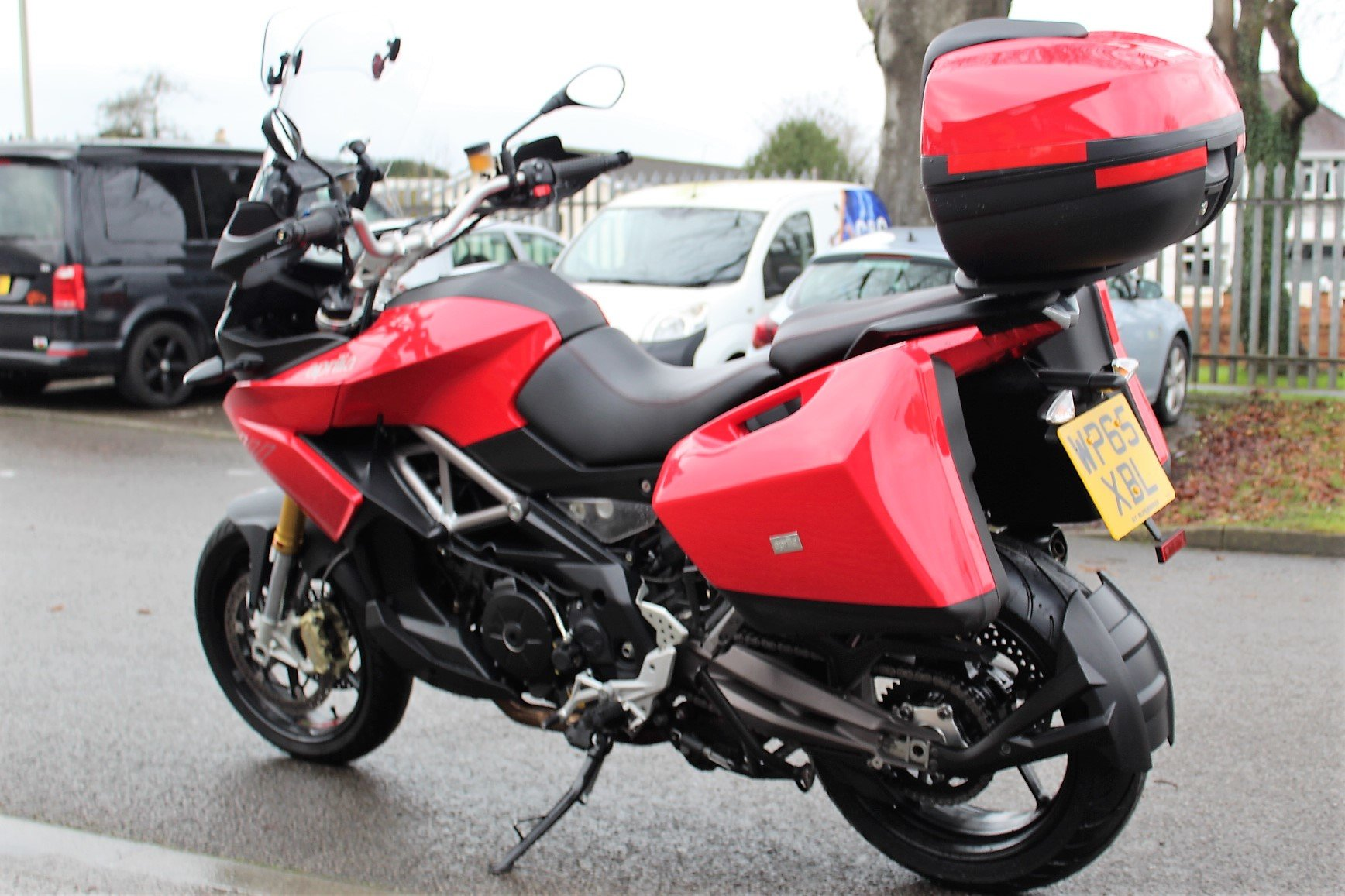 2015 65 Aprilia Caponord 1200 ABS Adventure Tourer For Sale (picture 5 of 12)