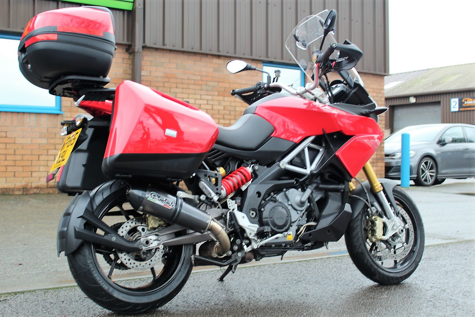 2015 65 Aprilia Caponord 1200 ABS Adventure Tourer For Sale (picture 6 of 12)