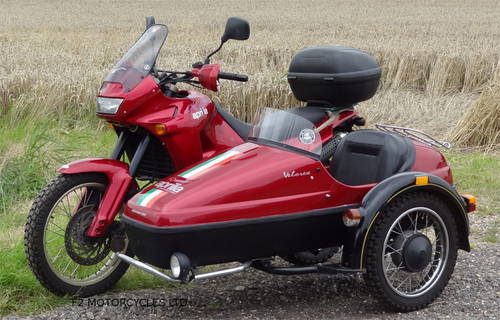 1997 Aprilia Pegaso 650 Sidecar outfit, MOTed and ready to ride SOLD (picture 2 of 6)