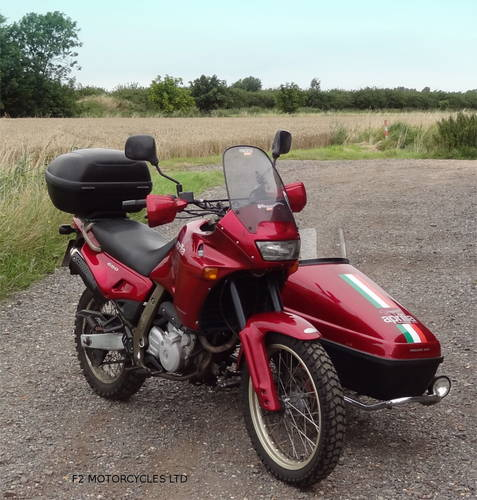 1997 Aprilia Pegaso 650 Sidecar outfit, MOTed and ready to ride SOLD (picture 3 of 6)