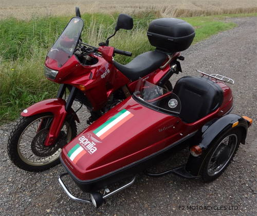 1997 Aprilia Pegaso 650 Sidecar outfit, MOTed and ready to ride SOLD (picture 5 of 6)