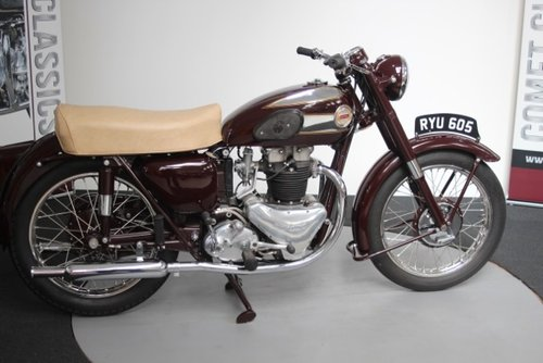 7250 1955 Ariel Huntmaster 650cc  For Sale (picture 1 of 6)
