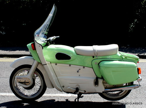 1962 Ariel Leader in very good condition SOLD (picture 1 of 6)