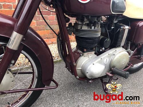 1957 Ariel NH350 - 350cc Single, Ride & Enjoy For Sale (picture 2 of 6)