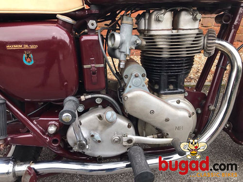 1957 Ariel NH350 - 350cc Single, Ride & Enjoy For Sale (picture 5 of 6)