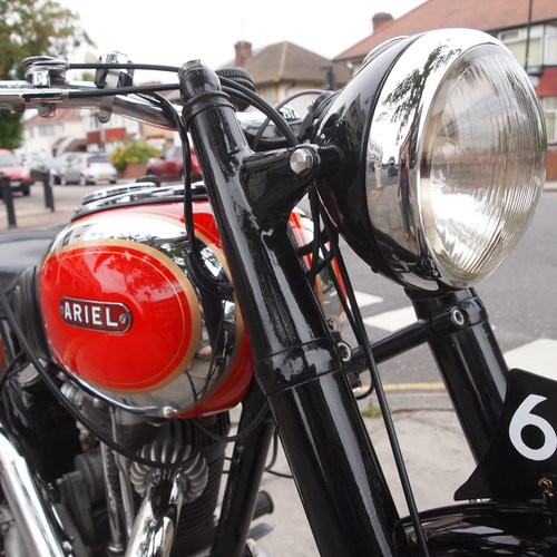 1948 Ariel VH500 Red Hunter, RESERVED FOR DUSTY. SOLD (picture 3 of 6)