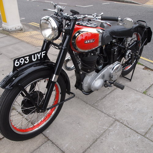 1948 Ariel VH500 Red Hunter, RESERVED FOR DUSTY. SOLD (picture 4 of 6)