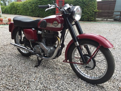 1955 Ariel 500 VH ohv single. For Sale (picture 1 of 6)