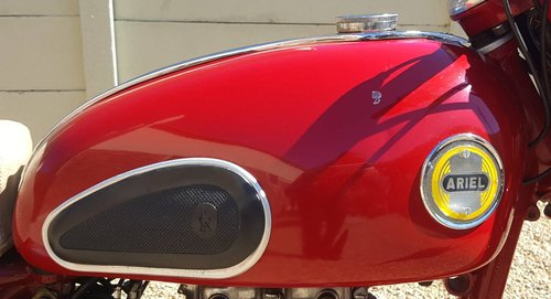 1957 Ariel Red Hunter 350 For Sale (picture 5 of 5)