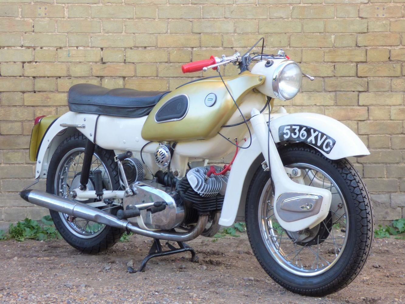 1962 Ariel Super Sports 'Golden' Arrow 250cc SOLD (picture 5 of 6)