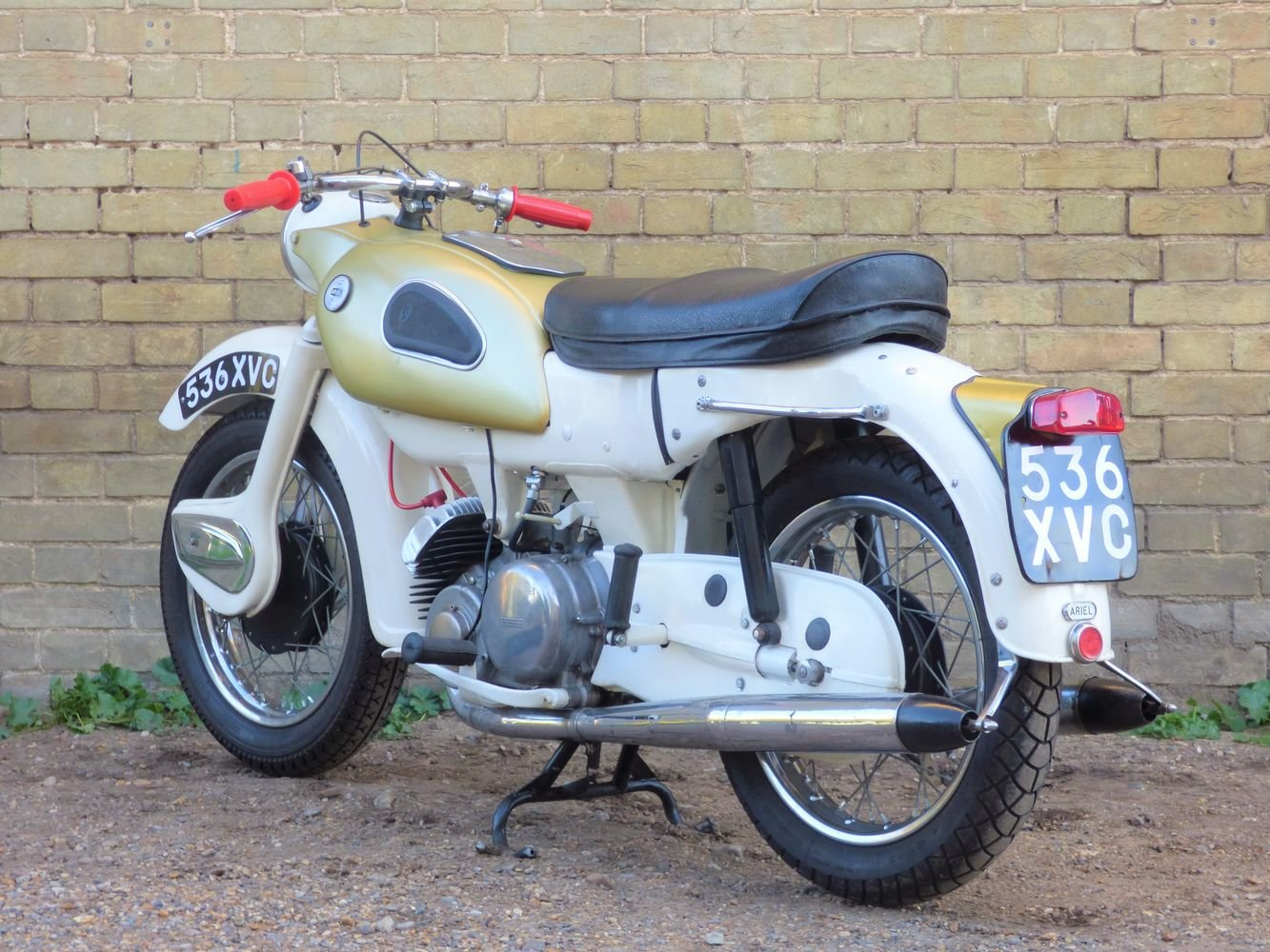 1962 Ariel Super Sports 'Golden' Arrow 250cc SOLD (picture 6 of 6)