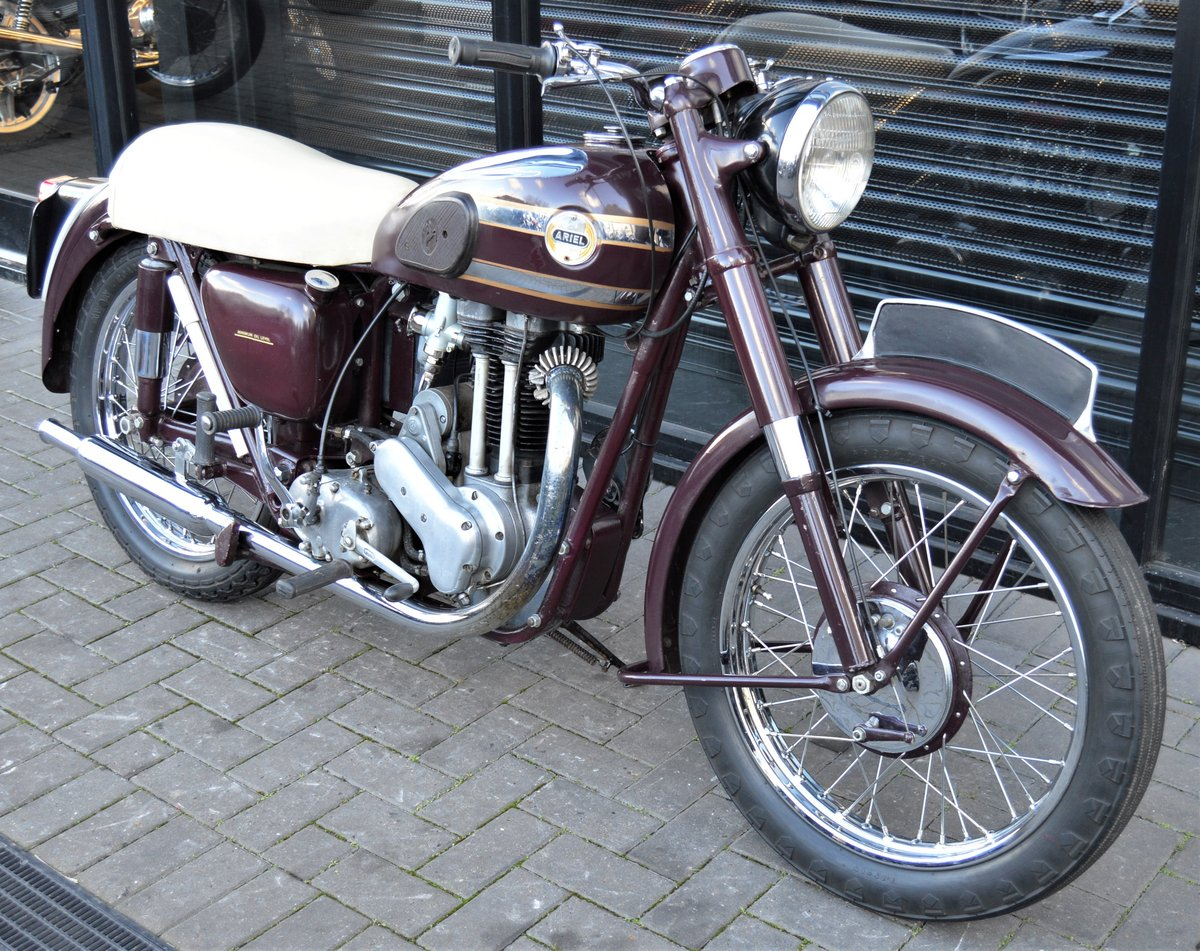 1955 ARIEL VH500 RED HUNTER * 12 MONTHS MOT * DELIVERY For Sale (picture 1 of 6)
