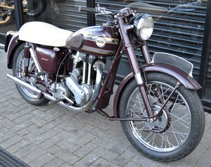 1955 ARIEL VH500 RED HUNTER * 12 MONTHS MOT * DELIVERY