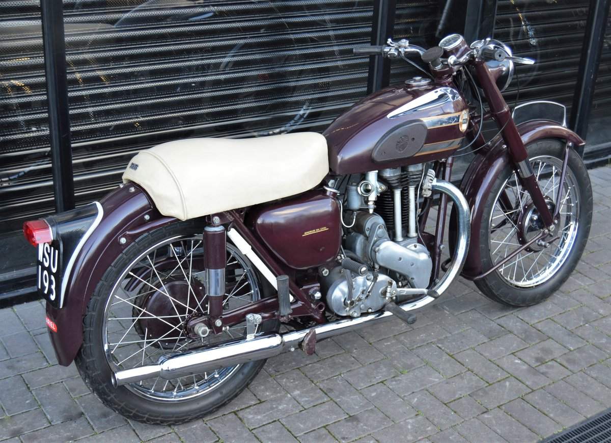 1955 ARIEL VH500 RED HUNTER * 12 MONTHS MOT * DELIVERY For Sale (picture 3 of 6)