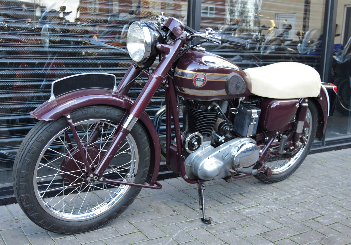 1955 ARIEL VH500 RED HUNTER * 12 MONTHS MOT * DELIVERY For Sale (picture 4 of 6)