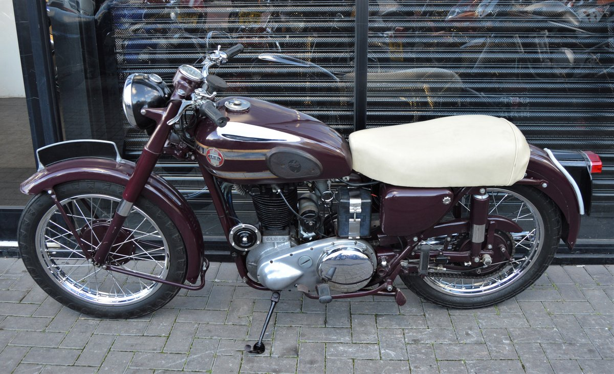 1955 ARIEL VH500 RED HUNTER * 12 MONTHS MOT * DELIVERY For Sale (picture 5 of 6)