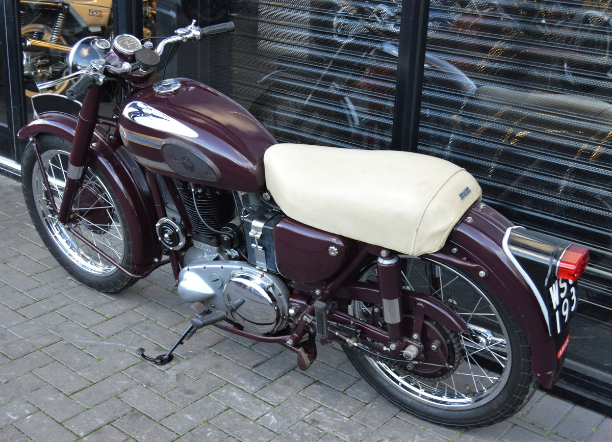 1955 ARIEL VH500 RED HUNTER * 12 MONTHS MOT * DELIVERY For Sale (picture 6 of 6)